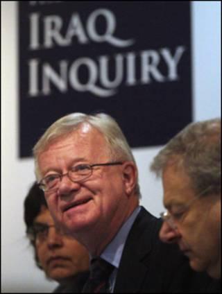رئيس لجنة التحقيق في حرب العراق