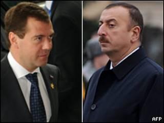 Дмитрий Медведев и Ильхам Алиев