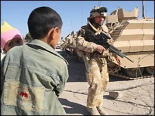 القوات البريطانية في العراق