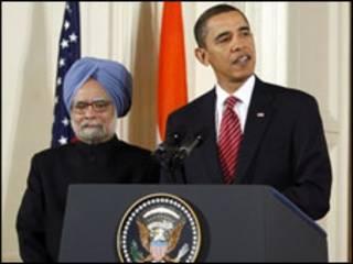 मनमोहन सिंह और ओबामा
