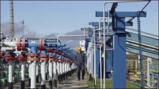 Газовые трубы, Украина