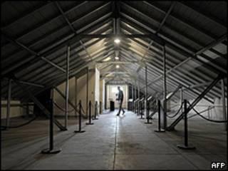 Capucha, un centro de detención clandestina de la ESMA, en Buenos Aires