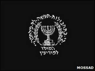 Logo do Mossad.
