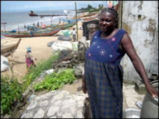 Ufuo wa Bahari nchini Liberia