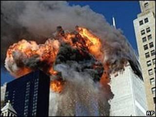 События 11 сентября в Нью-Йорке