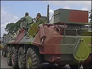 Tanque cubano (Foto: Raquel Pérez)