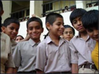 印度中学生
