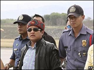 Andal Ampatuan junior, detenido