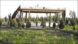 پارک تازه ساخته شده هلمند