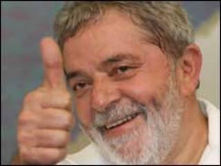 O presidente Luiz Inácio Lula da Silva nesta quinta-feira em Manaus (foto: Ricardo Stuckert/PR)