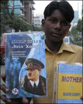 Mabul, vendedor de libros