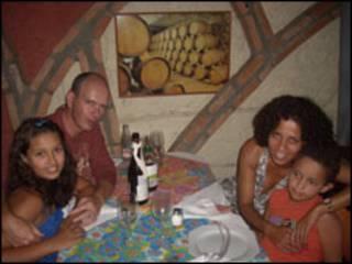 Isadora, Giorgio, Rose e Angelo (foto: arquivo pessoal)