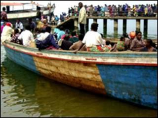 تفتقر وسائل النقل المائية في الكونغو الى شروط السلامة