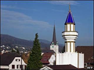 瑞士只有四座帶有尖塔的清真寺