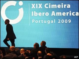 José Socrates na abertura da Cimeira
