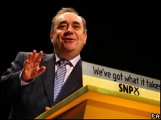 زعيم الحزب القومي الاسكتلندي أليكس ساموند