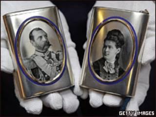Экспонат из коллекции Романовых