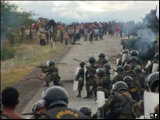 Protesta en Bagua, Perú