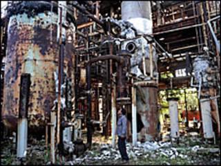 भोपाल में यूनियन कार्बाइड का कारखाना