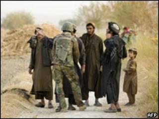 Солдат-афганец