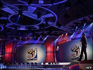 Salón del sorteo para la Copa Mundo 2010