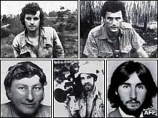 Các nhà báo bị chết