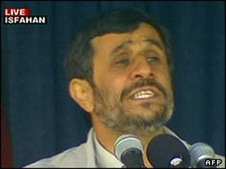 محمود احمدی نژاد در اصفهان