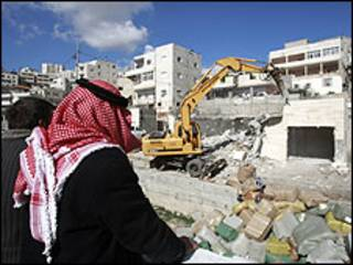 هدم منزل في القدس الشرقية
