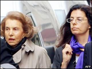 Лиллиан Беттанкур и Франсуаза Беттанкур-Майерс