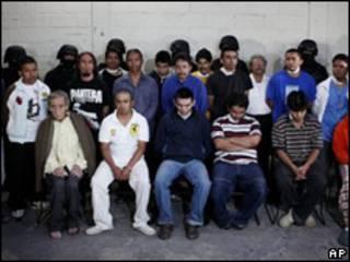Detenidos por la policía