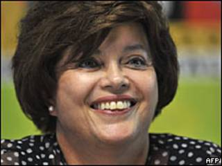 Dilma Roussef, Brasil, candidate