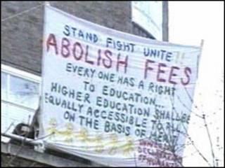 学生政治抗议活动
