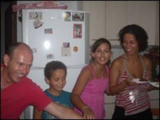 Giorgio, Angelo, Isadora e Rose (Foto: arquivo pessoal)
