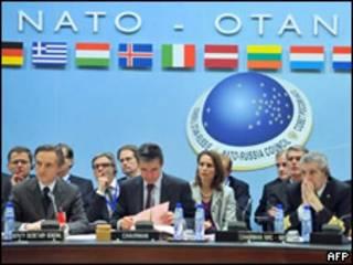 Заседание Совета Россия-НАТО в Брюсселе 3 декабря 2009 г.