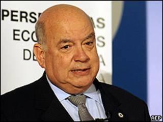 O secretário-geral da OEA, José Miguel Insulza (AFP, 30/11/2009)