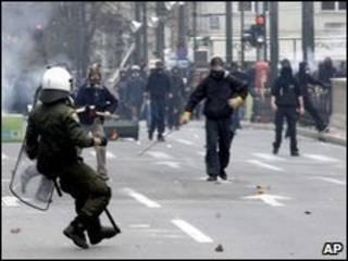 پلیس ضد شورش یونان