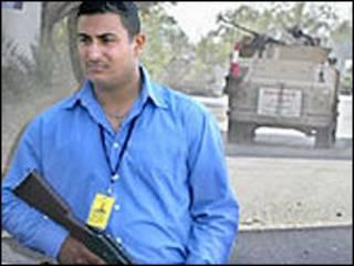 Contratista en Afganistán