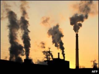 Fábrica em Jilin, na China (AFP, 29/11/09)