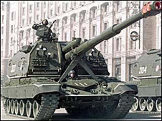 танк на параді у Києві (фото АП з архіву)