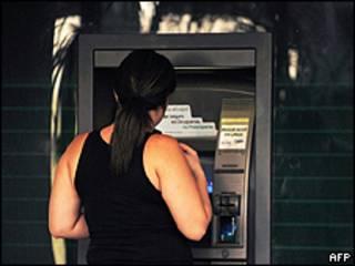 Cajero automático en Caracas, Venezuela