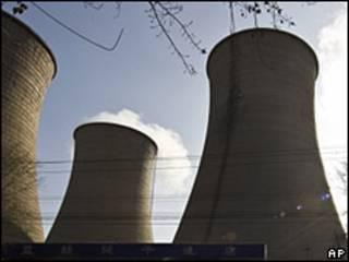 Теплоэлектростанция в Китае