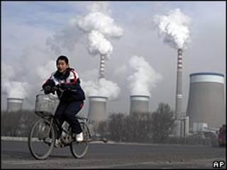 Usina de carvão chinesa