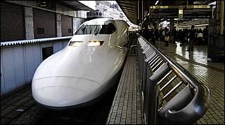 Tàu cao tốc shinkansen của Nhật Bản (ảnh chỉ có tính chất minh họa)