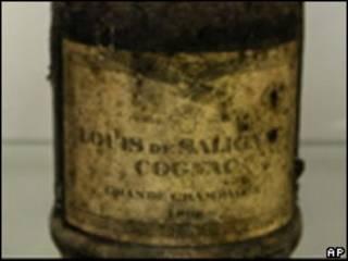 Бутылка, выставленная на торги