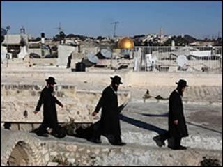 یوروشلم میں بعض یہودی(فائل فوٹو)