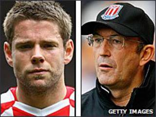 James Beattie (trái), Stoke City