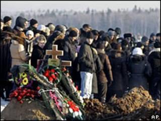 Похороны погибших в Перми