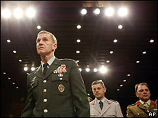 Stanley McChrystal, jefe de las fuerzas estadounidenses en Afganistán