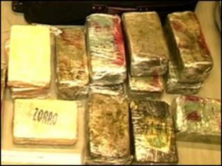 Упаковки с кокаином (архивное фото)