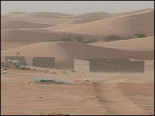 منطقة صحراوية قرب نواكشوط